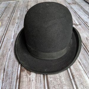 Men's Vintage Bowler Hat. Mad Hatter